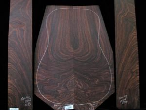 Wild figure East Indian Rosewood